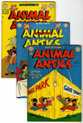"Golden Age (1938-1955):Funny Animal, Movietown's Animal Antics Group - Davis Crippen (""D"" Copy) pedigree(DC, 1949-51) Condition: Average FN/VF.... (Total: 5 Comic Books)"
