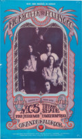 Music Memorabilia:Posters, Big Brother and the Holding Company/MC 5 Grande Ballroom Concert Poster (Russ Gibb, 1968)....