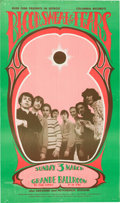 Music Memorabilia:Posters, Blood Sweat and Tears Grande Ballroom Concert Poster (Russ Gibb,1968)....