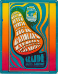 Music Memorabilia:Posters, Thyme/People/Rationals Grande Ballroom Poster (Russ Gibb, 1967)....