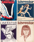 Books:Periodicals, [Max Eastman, Floyd Dell and Robert Minor, editors]. TheLiberator. New York: Liberator Publishing, Co., Workers Par...