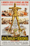 "Movie Posters:Adventure, The Colossus of Rhodes (MGM, 1961). One Sheet (27"" X 41"").Adventure.. ..."