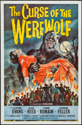 """Movie Posters:Horror, The Curse of the Werewolf (Universal International, 1961). One Sheet (27"""" X 41""""). Horror.. ..."""