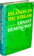 Books:Literature 1900-up, Ernest Hemingway. Islands in the Stream. New York: CharlesScribner's Sons, [1970]....