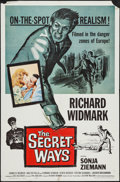 "Movie Posters:Adventure, The Secret Ways & Other Lot (Universal, 1961). One Sheets (2)(27"" X 41""). Adventure.. ... (Total: 2 Items)"