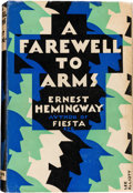 Books:Literature 1900-up, Ernest Hemingway. A Farewell to Arms. London: Jonathan Cape,[1929]....
