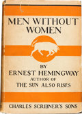 Books:Literature 1900-up, Ernest Hemingway. Men Without Women. New York: CharlesScribner's Sons, 1927....