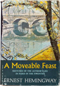 Books:Literature 1900-up, Ernest Hemingway. A Moveable Feast. New York: CharlesScribner's Sons, [1964]....
