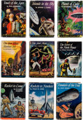 Books:Science Fiction & Fantasy, Poul Anderson, Arthur C. Clarke, Lester Del Rey, et al. Thirty-Seven Golden Age Science Fiction First Editions From the Jo... (Total: 37 Items)