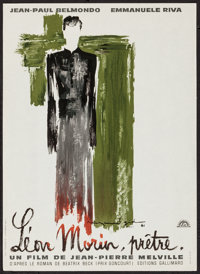 """Leon Morin, Priest (Lux Film, 1961). French Petite (11.25"""" X 15.5""""). Foreign"""