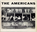 Books:Photography, [Robert Frank, photographer]. The Americans. Introduction byJack Kerouac. New York: Grove Press, Inc., [1959]. Firs...