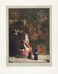 Books:Prints & Leaves, [Hovsep Pushman, artist]. SIGNED/LIMITED. Original Collotype Printof Masterpiece Painting by Hovsep Pushman. ...