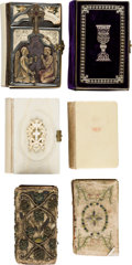 Books:Religion & Theology, [Religion and Theology]. Group of Five Small Books of Religious Devotionals, and One Almanac. Including:... (Total: 6 Items)