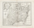 Books:Maps & Atlases, [Map of North America]. Eman. Bowen. A New & Accurate Map of Louisiana, with Part of Florida and Canada. [N.p., circ...
