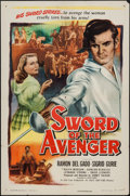 "Movie Posters:Adventure, Sword of the Avenger & Other Lot (Eagle Lion, 1948). One Sheets(2) (27"" X 41""). Adventure.. ... (Total: 2 Items)"