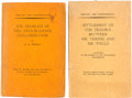 Books:Pamphlets & Tracts, H. G. Wells. The Problem of the Troublesome Collaborator. Noplace: Privately printed for circulation among the ... (Total: 2Items)