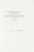Books:Literature 1900-up, John Updike. Collection of Nine Signed Limited Editions. [VariousPublishers, Various Dates]. First editions, each one a l... (Total:9 Items)