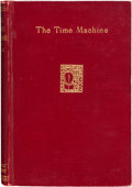 Books:Science Fiction & Fantasy, H. G. Wells. The Time Machine. New York: 1895....