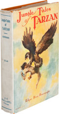 Books:Fiction, Edgar Rice Burroughs. Jungle Tales of Tarzan. Chicago: A. C.McClurg & Co., 1919. First edition, first printing . Oc...