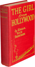 Books:Fiction, Edgar Rice Burroughs. The Girl from Hollywood. New York: TheMacaulay Company, [1923]. First edition, Zeuschner's ...
