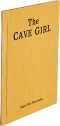 Books:Fine Press & Book Arts, Edgar Rice Burroughs. The Cave Girl. Chicago: A. C. McClurg& Co., 1925. Printer's dummy for an unused example of wh...