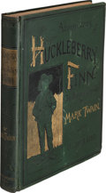 Books:Literature 1900-up, Mark Twain. Adventures of Huckleberry Finn (Tom Sawyer'sComrade). With one hundred and seventy-four illustrations. ...