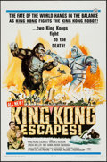 "Movie Posters:Science Fiction, King Kong Escapes (Universal, 1967). One Sheet (27"" X 41""). ScienceFiction.. ..."