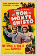 "Movie Posters:Adventure, The Son of Monte Cristo (Eagle Lion, R-1948). One Sheet (27"" X41""). Adventure.. ..."