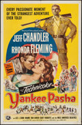 "Movie Posters:Adventure, Yankee Pasha (Universal International, 1954). One Sheet (27"" X41""). Adventure.. ..."