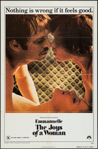 "Emmanuelle: The Joys of a Woman (Paramount, 1976). One Sheet (27"" X 41""). Adult"