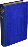 Books:Literature 1900-up, H. G. Wells. The Country of the Blind. And OtherStories. London: Thomas Nelson and Sons, [1911]....