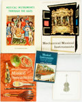 Books:Music & Sheet Music, [Musical Instruments]. Group of Five Reference Books... (Total: 5Items)