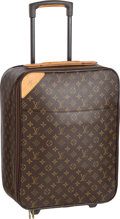 "Luxury Accessories:Travel/Trunks, Louis Vuitton Classic Monogram Canvas Pegase 45 Suitcase Bag.Very Good Condition. 13.5"" Width x 19"" Height x 7""Depth..."