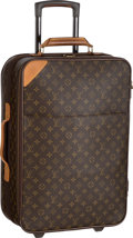 "Luxury Accessories:Travel/Trunks, Louis Vuitton Classic Monogram Canvas Pegase 55 Suitcase Bag.Very Good Condition. 14.5"" Width x 22"" Height x 7.5""Dep..."