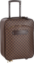 "Luxury Accessories:Travel/Trunks, Louis Vuitton Damier Ebene Canvas Pegase 45 Suitcase Bag. VeryGood Condition. 13.5"" Width x 18"" Height x 6.5"" Depth..."
