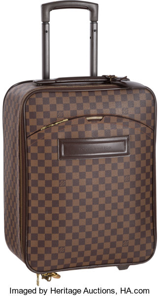 9ba457b1a ... Luxury Accessories:Travel/Trunks, Louis Vuitton Damier Ebene Canvas  Pegase 45 Suitcase Bag ...