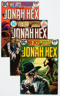 Bronze Age (1970-1979):Western, Weird Western Tales Group (DC, 1973-78) Condition: Average VF.... (Total: 10 Comic Books)