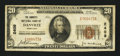 National Bank Notes:Kentucky, Danville, KY - $20 1929 Ty. 1 The Farmers NB Ch. # 2409. ...