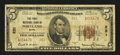 National Bank Notes:Maine, Portland, ME - $5 1929 Ty. 2 The First NB Ch. # 221. ...