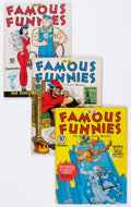 Golden Age (1938-1955):Miscellaneous, Famous Funnies Group (Eastern Color, 1941-49) Condition: Average FN.... (Total: 10 Comic Books)