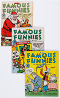 Golden Age (1938-1955):Miscellaneous, Famous Funnies Group (Eastern Color, 1942-51) Condition: Average FN-.... (Total: 14 Comic Books)