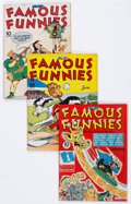 Golden Age (1938-1955):Miscellaneous, Famous Funnies Group (Eastern Color, 1943-51) Condition: Average VG.... (Total: 23 Comic Books)
