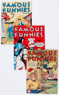 Golden Age (1938-1955):Miscellaneous, Famous Funnies Group (Eastern Color, 1943-52) Condition: Average FN/VF.... (Total: 12 Comic Books)
