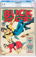 Golden Age (1938-1955):Science Fiction, Buck Rogers #2 (Eastern Color, 1941) CGC GD/VG 3.0 Cream to off-white pages....