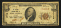 National Bank Notes:Virginia, Alexandria, VA - $10 1929 Ty. 1 The Citizens NB Ch. # 1716. ...