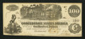 Confederate Notes:1862 Issues, T39 $100 1862 PF-5 Cr. 290-292.. ...