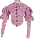 "Movie/TV Memorabilia:Costumes, A Vivien Leigh Period Blouse from ""Gone With The Wind.""..."