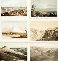 Books:Prints & Leaves, [United States]. Group of Twenty-Five Color Plates from the U.S.Pacific Rail Road Expedition and the Geological Exploration. ...