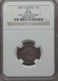 Early Dimes, 1805 10C 4 Berries, JR-2, R.2, XF45 NGC....