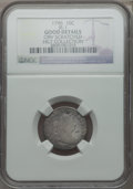 Early Dimes, 1796 10C JR-1, R.3 -- Obverse Scratched -- NGC Details. Good....